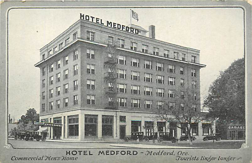 Hotel Nash C1908 East Main And Front Medford